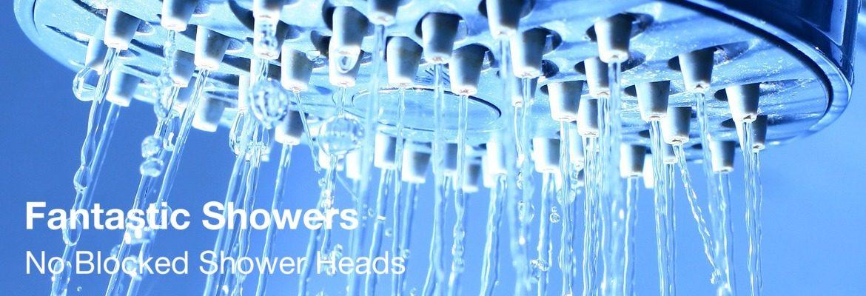 No Blocked Shower Heads